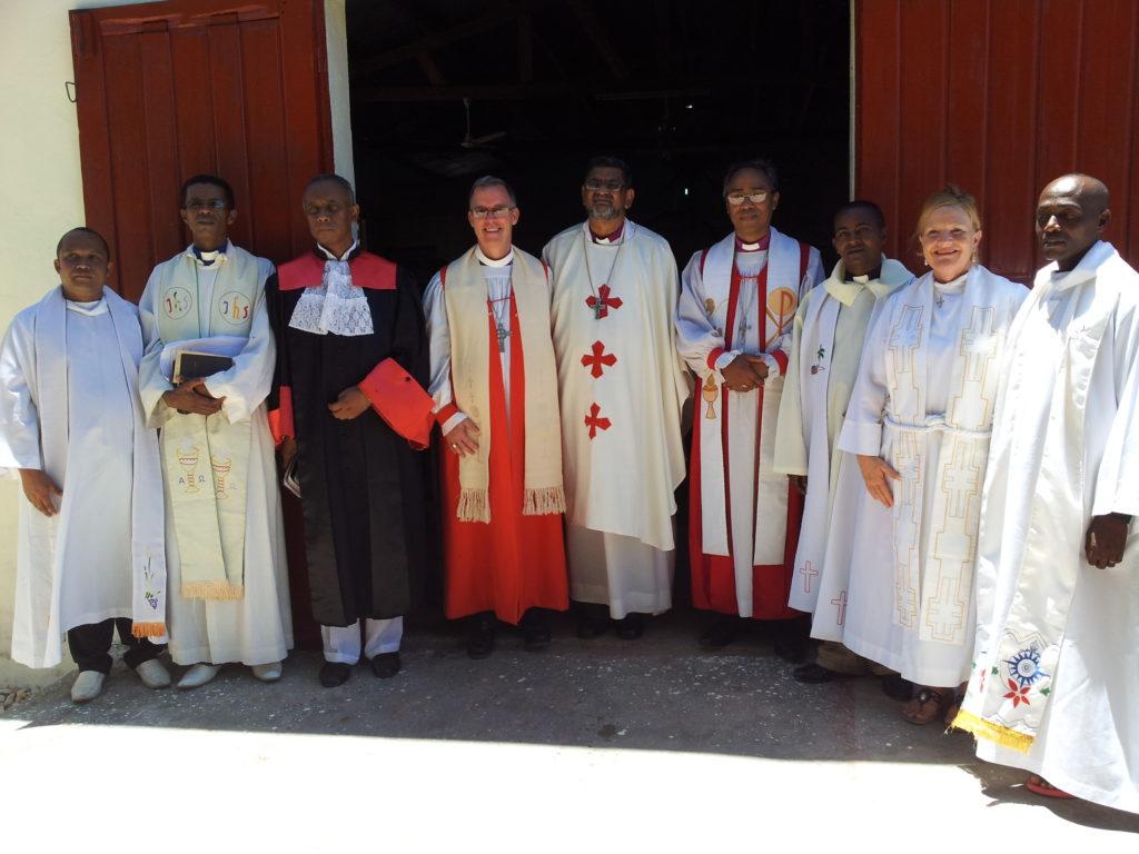 clergy archbishop Ian, Todd, Jaona feb 10 2013